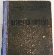 Libros antiguos: LIBRO, GRAMÁTICA ESPAÑOLA. Lote 208968901