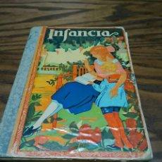 Libros antiguos: ANTIGUO LIBRO ESCOLAR INFANCIA , AÑO 1936, 126 PÁGINAS, MÉTODO COMPLETO DE LECTURA. Lote 209017465