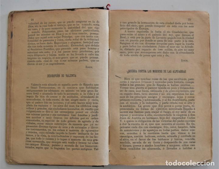 Libros antiguos: EL BUEN HABLISTA, COLECCIÓN DE TROZOS ESCOGIDOS EN PROSA Y VERSO - VALENCIA 1904 - Foto 6 - 209039161