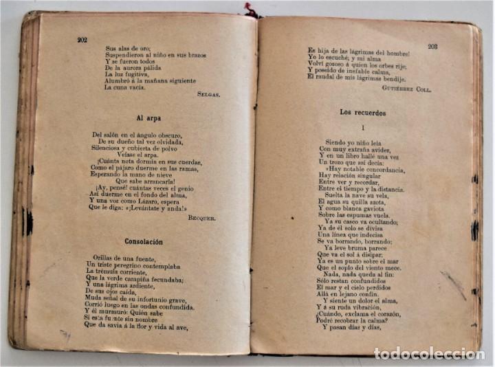Libros antiguos: EL BUEN HABLISTA, COLECCIÓN DE TROZOS ESCOGIDOS EN PROSA Y VERSO - VALENCIA 1904 - Foto 9 - 209039161