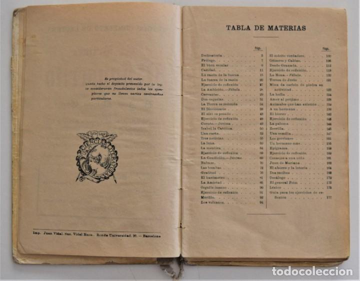 Libros antiguos: EL PRIMER MANUSCRITO, MÉTODO COMPLETO DE LECTURA - JOSÉ DALMÁU CARLES - AÑO 1924 - Foto 5 - 209040773