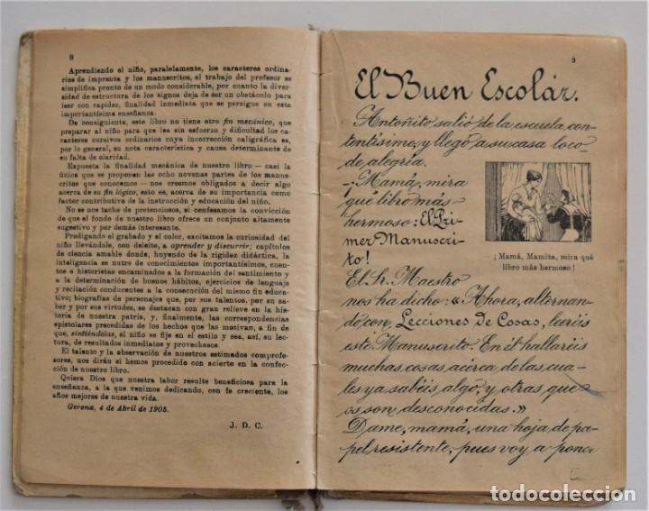 Libros antiguos: EL PRIMER MANUSCRITO, MÉTODO COMPLETO DE LECTURA - JOSÉ DALMÁU CARLES - AÑO 1924 - Foto 7 - 209040773