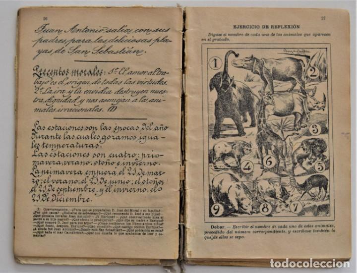 Libros antiguos: EL PRIMER MANUSCRITO, MÉTODO COMPLETO DE LECTURA - JOSÉ DALMÁU CARLES - AÑO 1924 - Foto 8 - 209040773