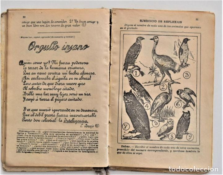 Libros antiguos: EL PRIMER MANUSCRITO, MÉTODO COMPLETO DE LECTURA - JOSÉ DALMÁU CARLES - AÑO 1924 - Foto 9 - 209040773
