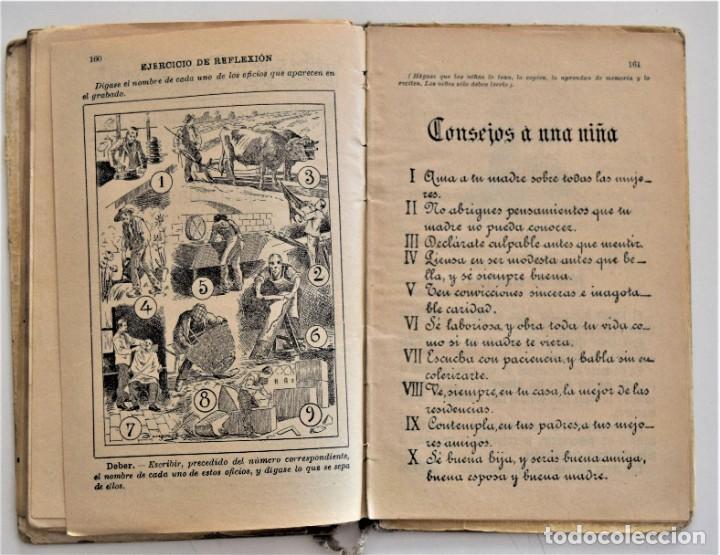 Libros antiguos: EL PRIMER MANUSCRITO, MÉTODO COMPLETO DE LECTURA - JOSÉ DALMÁU CARLES - AÑO 1924 - Foto 10 - 209040773