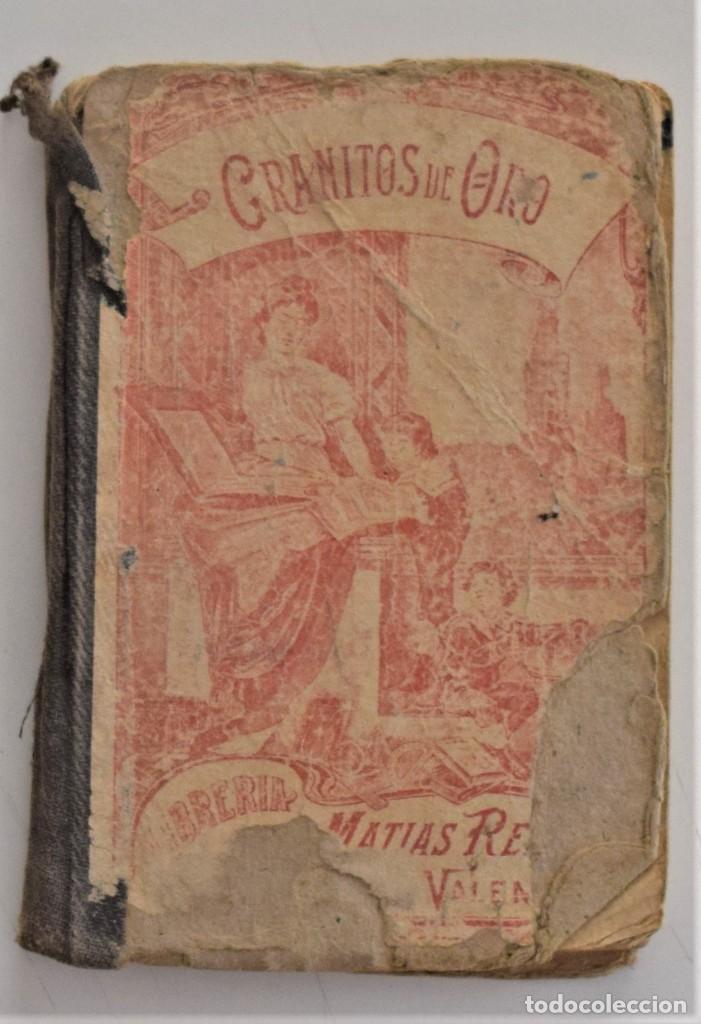 GRANITOS DE ORO, LIBRO SEGUNDO DE LECTURA CORRIENTE - FRANCISCO SANCHIS ORDINES - VALENCIA 1917 (Libros Antiguos, Raros y Curiosos - Libros de Texto y Escuela)