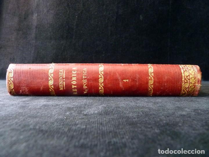 Libros antiguos: RETÓRICA Y POÉTICA. FEDERICO DE MENDOZA. 1ª PARTE, TÉCNICA LITERARIA. IMP. NICASIO RIUS, VALENCIA, 1 - Foto 3 - 209200260