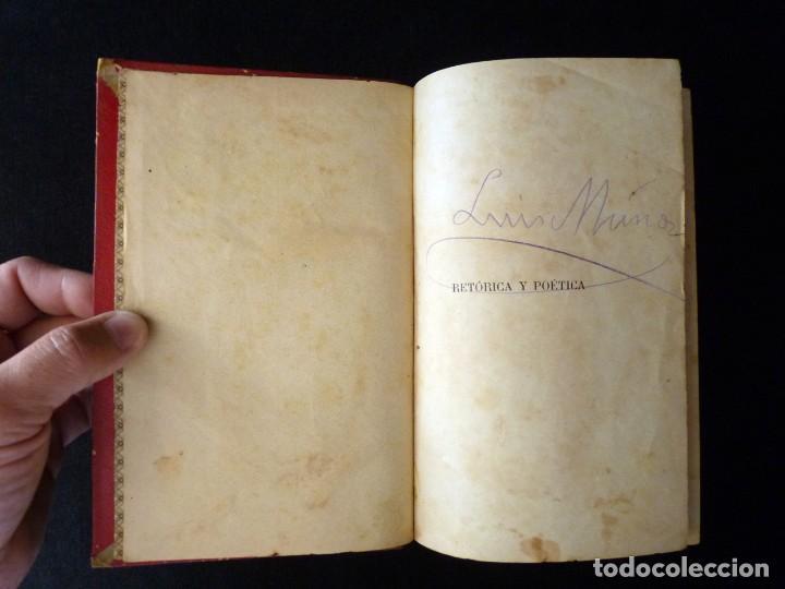 Libros antiguos: RETÓRICA Y POÉTICA. FEDERICO DE MENDOZA. 1ª PARTE, TÉCNICA LITERARIA. IMP. NICASIO RIUS, VALENCIA, 1 - Foto 5 - 209200260