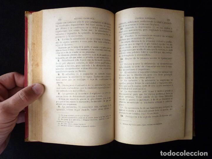 Libros antiguos: RETÓRICA Y POÉTICA. FEDERICO DE MENDOZA. 1ª PARTE, TÉCNICA LITERARIA. IMP. NICASIO RIUS, VALENCIA, 1 - Foto 7 - 209200260