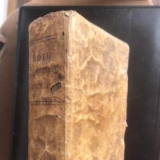 Libros antiguos: 1742 - FRAGMENTOS GRAMATICALES. GREGORIO BOIL Y VALERO. TOMO I. Lote 209238556