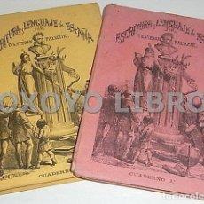Libros antiguos: PALUZÍE, ESTEBAN. ESCRITURA Y LENGUAJE DE ESPAÑA, EN PROSA Y VERSO. CUADERNOS 2 Y 3. 1874. Lote 210232536