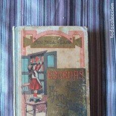 Libros antiguos: ESCENAS DE FAMILIA PILAR PASCUAL DE SANJUÁN 1907 BARCELONA CON 102 GRABADOS. Lote 210761605