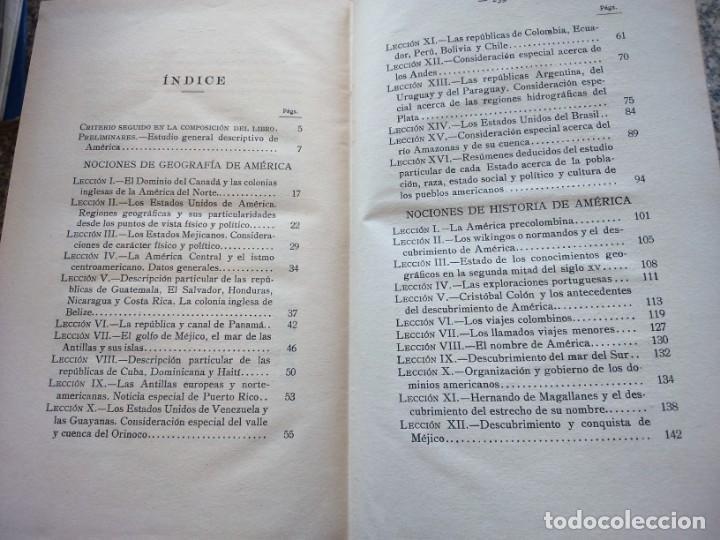 Libros antiguos: NOCIONES DE GEOGRAFIA E HISTORIA DE AMERICA -- CONSTANTINO BAYLE -- RAZON Y FE 1928 -- - Foto 5 - 210815756