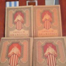Libros antiguos: 1931-CARTILLAS DE GRAMATICA 1ª Y2ª PART-CARTILLA DE GEOMETRIA-CARTILLA D'ARITMETICA-LOTE 4 -MAGNIFIC. Lote 212199375