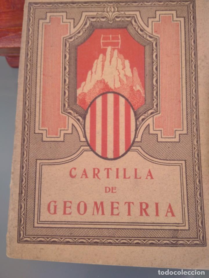 Libros antiguos: 1931-CARTILLAS DE GRAMATICA 1ª Y2ª PART-CARTILLA DE GEOMETRIA-CARTILLA DARITMETICA-LOTE 4 -MAGNIFIC - Foto 2 - 212199375