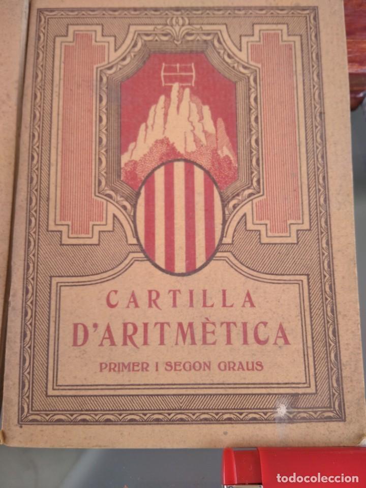 Libros antiguos: 1931-CARTILLAS DE GRAMATICA 1ª Y2ª PART-CARTILLA DE GEOMETRIA-CARTILLA DARITMETICA-LOTE 4 -MAGNIFIC - Foto 3 - 212199375