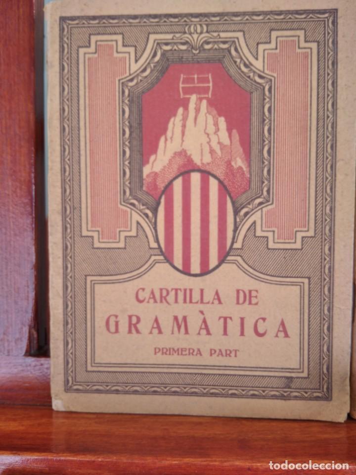 Libros antiguos: 1931-CARTILLAS DE GRAMATICA 1ª Y2ª PART-CARTILLA DE GEOMETRIA-CARTILLA DARITMETICA-LOTE 4 -MAGNIFIC - Foto 4 - 212199375