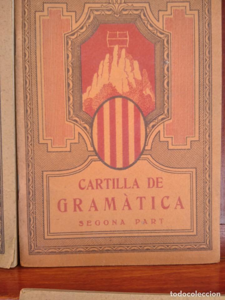 Libros antiguos: 1931-CARTILLAS DE GRAMATICA 1ª Y2ª PART-CARTILLA DE GEOMETRIA-CARTILLA DARITMETICA-LOTE 4 -MAGNIFIC - Foto 5 - 212199375