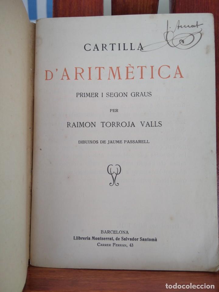 Libros antiguos: 1931-CARTILLAS DE GRAMATICA 1ª Y2ª PART-CARTILLA DE GEOMETRIA-CARTILLA DARITMETICA-LOTE 4 -MAGNIFIC - Foto 9 - 212199375