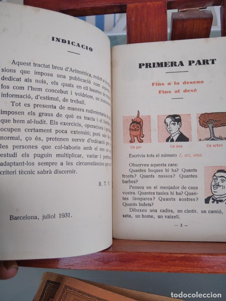 Libros antiguos: 1931-CARTILLAS DE GRAMATICA 1ª Y2ª PART-CARTILLA DE GEOMETRIA-CARTILLA DARITMETICA-LOTE 4 -MAGNIFIC - Foto 10 - 212199375