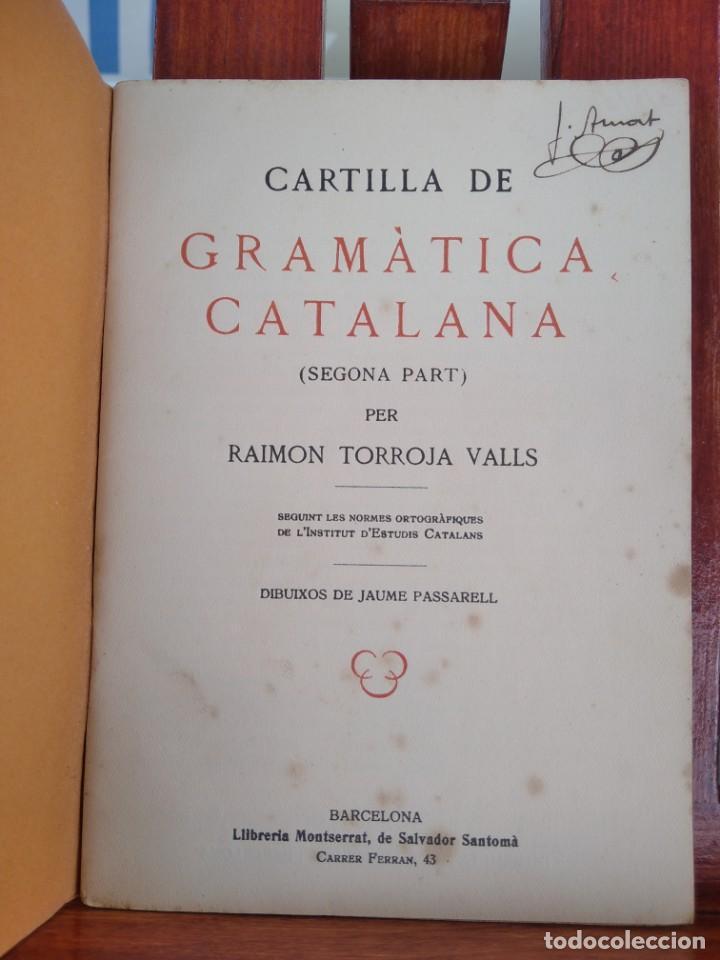 Libros antiguos: 1931-CARTILLAS DE GRAMATICA 1ª Y2ª PART-CARTILLA DE GEOMETRIA-CARTILLA DARITMETICA-LOTE 4 -MAGNIFIC - Foto 14 - 212199375