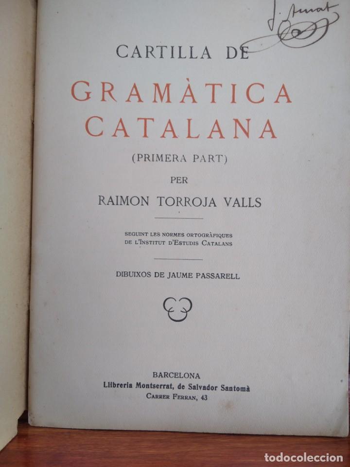 Libros antiguos: 1931-CARTILLAS DE GRAMATICA 1ª Y2ª PART-CARTILLA DE GEOMETRIA-CARTILLA DARITMETICA-LOTE 4 -MAGNIFIC - Foto 18 - 212199375