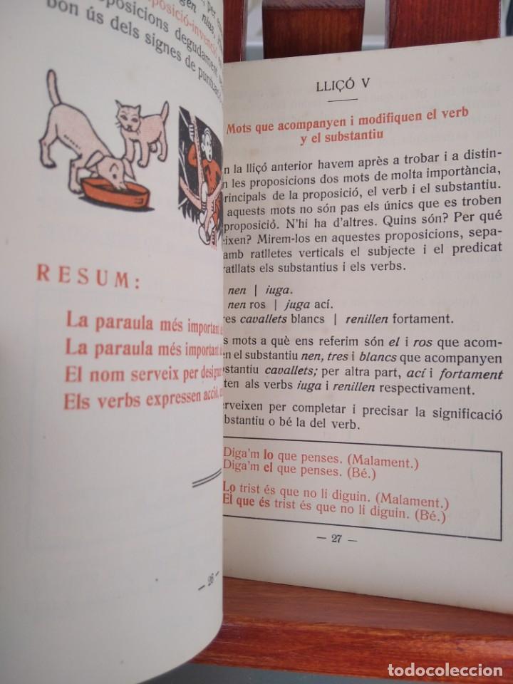 Libros antiguos: 1931-CARTILLAS DE GRAMATICA 1ª Y2ª PART-CARTILLA DE GEOMETRIA-CARTILLA DARITMETICA-LOTE 4 -MAGNIFIC - Foto 20 - 212199375