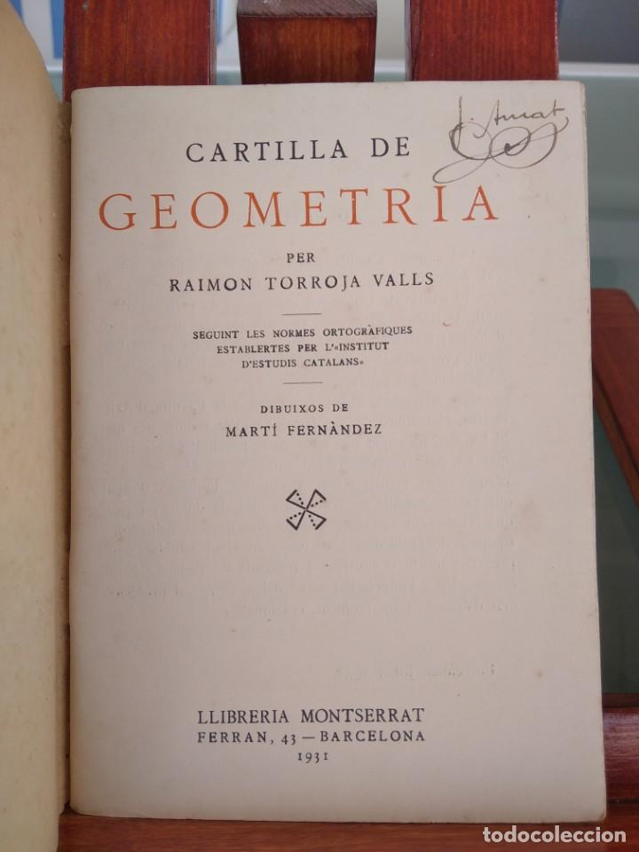 Libros antiguos: 1931-CARTILLAS DE GRAMATICA 1ª Y2ª PART-CARTILLA DE GEOMETRIA-CARTILLA DARITMETICA-LOTE 4 -MAGNIFIC - Foto 22 - 212199375