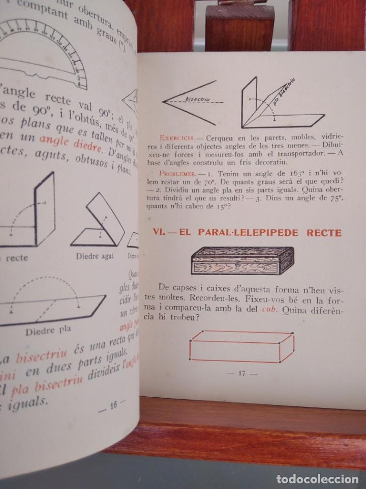 Libros antiguos: 1931-CARTILLAS DE GRAMATICA 1ª Y2ª PART-CARTILLA DE GEOMETRIA-CARTILLA DARITMETICA-LOTE 4 -MAGNIFIC - Foto 25 - 212199375