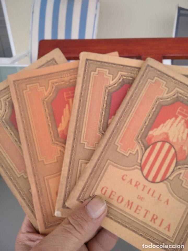 Libros antiguos: 1931-CARTILLAS DE GRAMATICA 1ª Y2ª PART-CARTILLA DE GEOMETRIA-CARTILLA DARITMETICA-LOTE 4 -MAGNIFIC - Foto 28 - 212199375