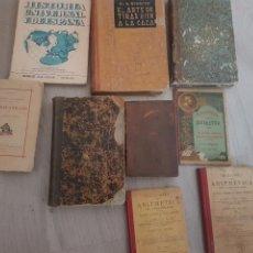 Libros antiguos: LOTE DE LIBROS. Lote 209750028