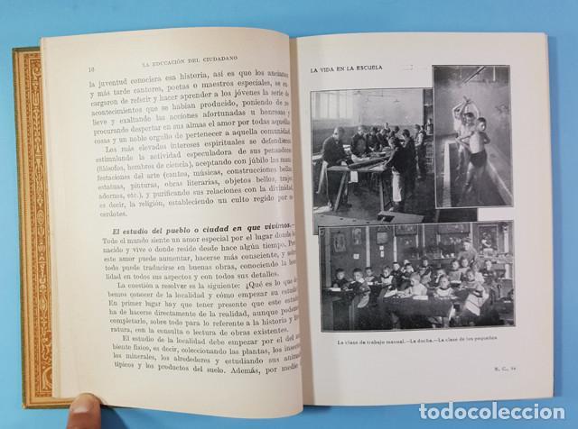 Libros antiguos: LA EDUCACION DEL CIUDADANO, JUAN PALAU VERA, SEIX BARRAL 1921 ES ORIGINAL + DIPTICO REGALO - Foto 5 - 212897828
