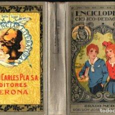 Libros antiguos: ENCICLOPEDIA CÍCLICO PEDAGÓGICA GRADO MEDIO DALMAU CARLES 1927. Lote 214831700