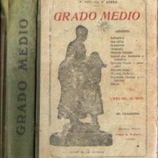 Libros antiguos: PORCEL Y RIERA . ENCICLOPEDIA GRADO MEDIO (PALMA DE MALLORCA, 1922). Lote 214832712