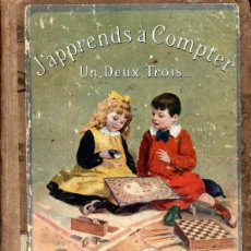 Libros antiguos: J' APPRENDS A COMPTER /HACHETTE (1921). Lote 214833391