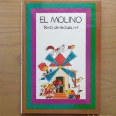 Livros antigos: EL MOLINO TEXTO DE LECTURA Nº 1 - SANTILLANA MÉTODO DE LECTURA Y ESRITURA SAETA REEDICIÓN 1979. Lote 235875480