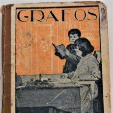 Libros antiguos: GRAFOS, SEGUNDA SERIE DE MANUSCRITOS - JOSÉ FRANCÉS - VALENCIA. Lote 215631658