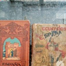 Livres anciens: 2 LIBROS DE LECTURA, ESPAÑA MI PATRIA Y RECUERDOS DE ESPAÑA. Lote 215901198