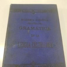Libros antiguos: GRAMÁTICA DE LA LENGUA CASTELLANA , ACADEMIA ESPAÑOLA, 413 PÁGINAS. Lote 215960700