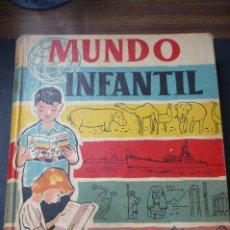 Libros antiguos: MUNDO INFANTIL, MIL PALABRAS A TRAVES DE LA IMAGEN Y EL COLOR / EDITA : MANUEL MARTIN Y CIA. 1958. Lote 216551283
