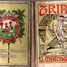 Libros antiguos: JOAN MARAGALL : TRIA (DALMAU CARLES, 1931). Lote 216876866