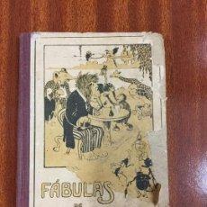 Libros antiguos: FABULAS EN VERSO CASTELLANO - FELIX MARIA SAMANIEGO - CALLEJA - EDICION ECONOMICA - 128P.15X10. Lote 218139190