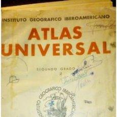 Libros antiguos: ATLAS GEOGRÁFICO UNIVERSAL 2ª GRADO. 1935. Lote 218273327