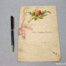 Libros antiguos: CUADERNO DE ESCRITURA. JOSEFINA FRANCÉS. 1906. DEBE SER LA HIJA DEL ESCRITOR JOSÉ FRANCÉS.. Lote 219634711