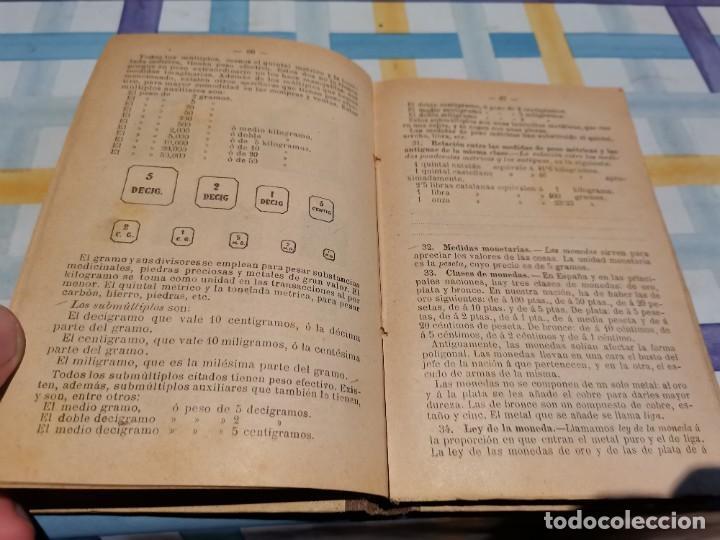 Libros antiguos: LECCIONES DE ARITMÉTICA D. JOSÉ DALMAU CARLES AÑO 1896 POSIBLE RECOGIDA EN MALLORCA - Foto 6 - 220120520