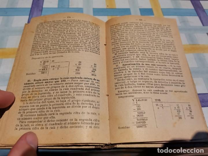 Libros antiguos: LECCIONES DE ARITMÉTICA D. JOSÉ DALMAU CARLES AÑO 1896 POSIBLE RECOGIDA EN MALLORCA - Foto 7 - 220120520