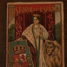 Libros antiguos: HISTORIA DE ESPAÑA - ESTEBAN PALUZÍE - 53 VIÑETAS - PARA NIÑOS - 1883.. Lote 220535895
