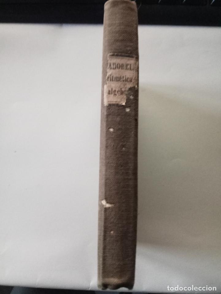 Libros antiguos: ELEMENTOS DE ARITMETICA UNIVERSAL - FRANCISCO DE ASIS MADORELL - TOMO I - 1856 - Foto 5 - 27895771