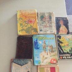 Libros antiguos: LOTE LIBROS ( VARIADOS). Lote 221378661