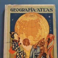Libros antiguos: GEOGRAFIA - ATLAS, SEGUNDO GRADO, D.RAFAEL BALLESTER, DALMAU CARLES 1929. Lote 221588030